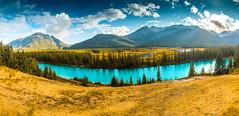 DSC_3125 (Rinathq) Tags: canada summer panaroma colors landscape nikon iamnikon d7200 tokina mountains lake skies alberta banff calgary