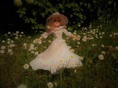 Dance on a flowerbed (CooperSky) Tags: regency girl 1981 sindy flowers