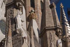 Sagrada Família (bertrandwaridel) Tags: 2018 april barcelona barcelone catalogne catalonia catalunya cataluña espagne sagradafamília spain spring catalogna