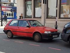 Toyota Corolla GL (sarflondondunc) Tags: toyotacorolla car toyota japanese 1987 london