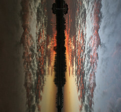 My personal Rorschach test (Robyn Hooz (away)) Tags: padova vertical mirror rorschach est nuvole clouds creativity sunset tramonto phsicology psicologia affettiva