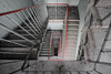 red line (jkatanowski) Tags: forgotten abandoned urbex urban exploration europe poland indoor decay dust staircase stairs sony a7m2 1740mm
