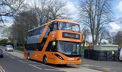 446 (timothyr673) Tags: nctroute36 e400 adl dennis alexanderdennis alexander orange orangeline go2orange nottinghamcitytransport nct bus chilwell enviro400 enviro400city n230ud n280ud e400city