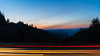 Give me more light! (sniggie) Tags: appalachia greatsmokymountainsnp greatsmokymountainsnationalpark nationalparkservice nationalparksystem northcarolina oconalufteeoverlook smokymountains lighttrail carlights