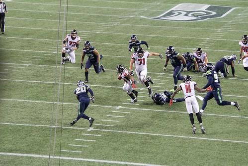 2017 Seahawks vs Falcons game