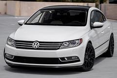 VW CC on 18x85 TSW Sebring mesh 18in wheels - 2 (tswalloywheels1) Tags: white volkswagen vw cc tsw 18x85 sebring mesh aftermarket 18in wheel wheels rim rims alloy alloys matte black