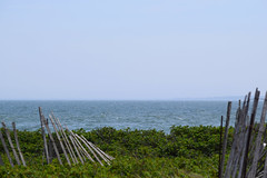 Broken Fence (RockN) Tags: broken fence beach atlanticocean may2018 falmouth capecod massachusetts newengland