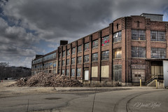 The Factory (david.horst.7) Tags: building decay weathered brick hdr
