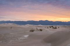 Mesquite Flat Sand Dunes at Sunrise (Chuck - PhotosbyMCH) Tags: photosbymch landscape sunrise mesquiteflatsanddunes stovepipewellsvillage deathvalley deathvalleynationalpark california usa 2017 canon 5dmkiv desert sanddunes amargosarange mountains ripples travel outdoors summer