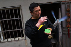 Nameless (Spontaneousnap) Tags: spontaneousnap street shanghai china city like candid documentary people publicareas lifestyle 上海 ricohgr takeabreak pet bird fly littledoglaughedstories