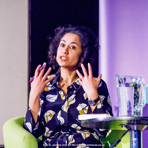 P3071205 Samira Ahmed - Humanists UK 2018 Franklin Lecture at the Camden Centre, London