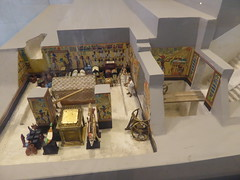 Reconstruction of Akhenaten's Tomb (Aidan McRae Thomson) Tags: amarna egypt museum ancient egyptian