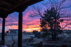One Beeeautiful Evening (Anna Gurule) Tags: sunset evening eveningclouds newmexico nmskies eldoradoatsantafe artedgy annagurule annaortizgurule colors beautiful