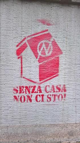 """""""Senza casa non ci sto"""" Bergamà 2018"""