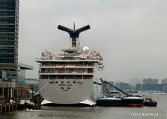 Magellan, IJhaven 1-4-2018 (kees.stoof) Tags: magellan ijhaven amsterdam oostelijkhavengebied easterndocklands cruiseship ij haven