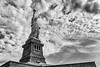Statue of Liberty (mickdep59) Tags: newyorkcity libertyisland usa noiretblanc newyork statueofliberty 2017usa bw blackandwhite étatsunis us