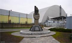 The Nuclear Power Plant of Chernobyl (Aad P.) Tags: chernobyl чорнобиль pripyat припять ukraine україна sovietunion cccp nuclearpowerplant radioactivity radiation urbex urbexphotography exclusionzone geigercounter sarcophagus humanfailure collapsed reactornr4