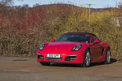 Boxster 981S (syf22) Tags: porsche porscheclubgbregion2 car motor motorcar motorised auto autocat automobile germanmade madeingermany flatsix flat6 boxerengine carriage coupé boxsters boxster981s guardsred red softtop convertible opentop sportcar transport midengine