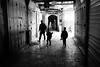 Passageway (michael.mu) Tags: jerusalem muslimquarter theleicameet leica m240 35mm leicasummicronm1235mmasph israel streetphotography silhouette backlight monochrome silverefexpro blackandwhite bw