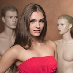Marina (juergenberlin) Tags: portrait sexy eyes long hair bruenette red