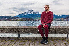 Luzern/Schweiz 2. April 2018 (karlheinz klingbeil) Tags: strumpfhose stricken see tights switzerland city knitting lake mode knitwear suisse collant schweiz wasser water manninstrumpfhose stadt gestricktes knit menintights luzern fashion ch
