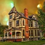 Brockville Ontario - Canada - Dunkeld House ~ High Victorian Architecture  - Susan and John MacKenzie Mansion  - 1880 thumbnail