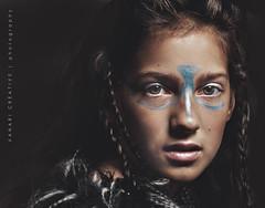 Warrior Girl by Barbara Dunn (BarbDunnNZ) Tags: warrior girl canon 7d 50mm 18 newzealand 430exii godox softbox portrait portraiture concept