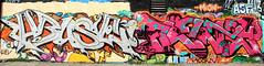 graffiti amsterdam (wojofoto) Tags: amsterdam nederland netherland holland graffiti streetart wojofoto wolfgangjosten ndsm frenzy abuse