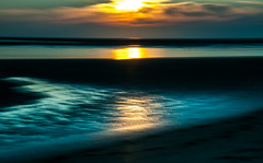 just another sundown at low tide (tseehaus) Tags: sea water sundown northsea icm intentionalcameramovement impressionistic evening reflection longtimeexposure