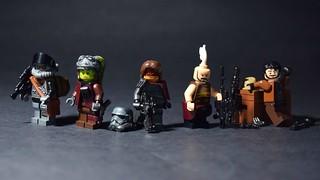 Guerrilla Bounty Hunters- Star Wars Figbarf