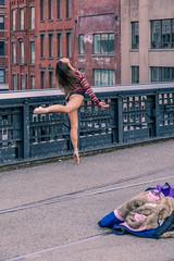 aa The High Line in April - pretty girl-01221 (Visual Thinking (by Terry McKenna)) Tags: thehighline girl dancer