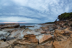 15mm at Shelley Beach || Bundeena (David Marriott - Sydney) Tags: royalnationalpark newsouthwales australia au shelley beach bundeena royal national park dawn sunrise sandstone