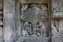"""INDONESIEN, Java, hinduistische Tempelanlage Prambanan, Relief, 17341/9886 (roba66) Tags: reisen travel explorevoyages urlaub visit roba66 asien südostasien asia eartasia """"southeastasia"""" indonesien indonesia """"republikindonesien"""" """"republicofindonesia"""" indonesiearchipelago inselstaat java prambanan tempelanlage tempel temple yogyakarta """"hinduistischetempelanlage"""""""" hinduismus bauwerk building architektur architecture arquitetura statue kulturdenkmal monument fassade façade relief platz places historie history historic historical geschichte unescoworldheritagesite"""