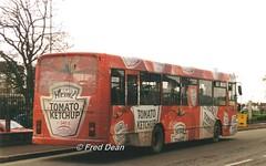 Bus Eireann DA10 (93C2510). (Fred Dean Jnr) Tags: buseireannroute214 buseireann cork daf sb220 alexander setanta da10 93c2510 wiltonshoppingcentre december1997 heinztomatoketchup alloverad
