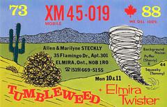46000289 (myQSL) Tags: cb radio qsl card 1970s