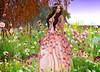 Spring Colors (kare Karas) Tags: woman lady femme girl girly colors spring beauty pretty cute senses soul magic outdoors nature sunny events virtual avatar secondlife game fun fantasy gown hair poses eyeshadows sweet garden ghee scalablossomsevent charme xxxevent jumo cosmeticfair fashiowlposes prismeventbloom