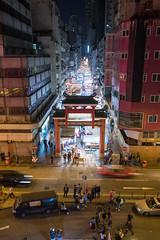 香港  Hong Kong 31 廟街 (Kelvin Wen) Tags: 香港 hongkong 廟街 templestreet 油麻地 yaumatei 夜市 nightmarket 夜景 nightscape nightview