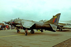 XV779   BAe Systems Harrier GR.3 [712029] (Royal Air Force) RAF Greenham Common~G 23/07/1983 (raybarber2) Tags: 712029 abpic airportdata ap approachtodo cn712029 codedap egvi flickr jetaircraft jetfighter ukmilitary xv779