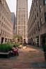 Rockefeller Center, 5th Avenue Plaza, NYC (Jeffrey) Tags: midtown manhattan street architecture buildings nyc newyork newyorkcity midtownmanhattan 5thavenue 5thave fifthavenue fifthave woman resting plaza rockefeller urbanism