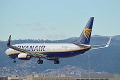 Ryanair EI-DWJ Boeing 737-8AS Winglets cn/36077-2411 @ LEBL / BCN 07-11-2016 (Nabil Molinari Photography) Tags: ryanair eidwj boeing 7378as winglets cn360772411 lebl bcn 07112016