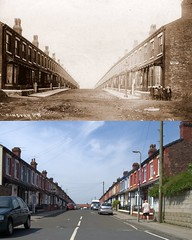 Leinster Road, Old Swan, 1902 and 2018 (Keithjones84) Tags: liverpool oldliverpool thenandnow rephotography