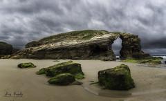 Praia de Augas Santas (Luis R.C.) Tags: playa mar rocas arco ribadeo galicia paisajes marina nikon d610