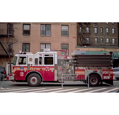 ..... (R.Scottsdale) Tags: newyork photography photograph portra kodak usa 35mm analog film f8 f56 format homeprocess tetenal lens light fire emergency city canon canona1 alone afterhours randy scottsdale