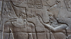 Decoración del santuario - El Anj (Kaledor Photos) Tags: luxor egipto templodeluxor templo temple santuario sanctuary decoración ankh