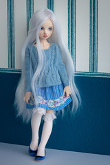 Rita's outfits (Vitarja) Tags: rita dim dollinmind odelia bjd outfit skirt cute violet doll clothes rainfoxdoll mushroomrain