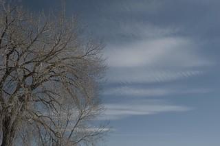 Skittering sky