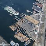 Colman Dock contruction, looking northwest thumbnail
