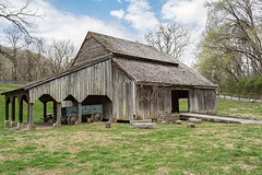 Caleb Crosby Threshing Barn (Back Road Photography (Kevin W. Jerrell)) Tags: barns oldbarns nikond7200 backroadphotography norris tennessee historic threshingbarns daysgoneby farms