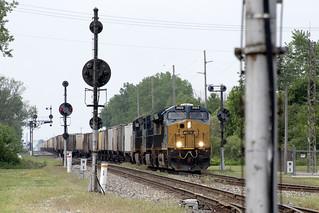 CSX 3423 Deshler CPL Signals K812 5/26/18