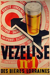 VEZELISE no.1 (OldAdMan) Tags: vezelise no1 desbiereslorraines oldadman oldadvertisements oldposters oldadverts france beer old vintage advertisements adverts posters